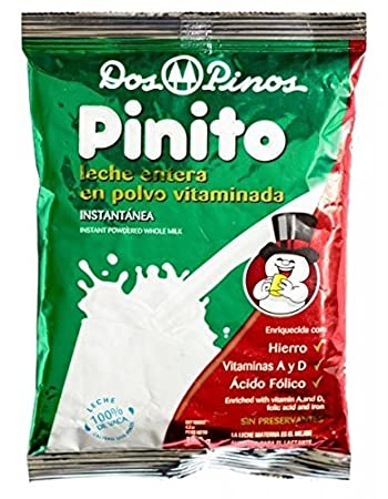"DOS PINOS Powered Milk""Leche Pinito"" Whole Milk, Leche Entera ..."
