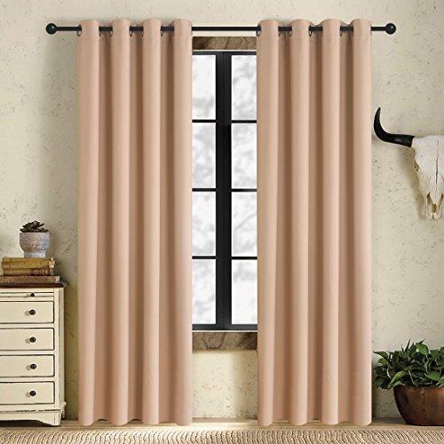 brown door curtain panel - 4