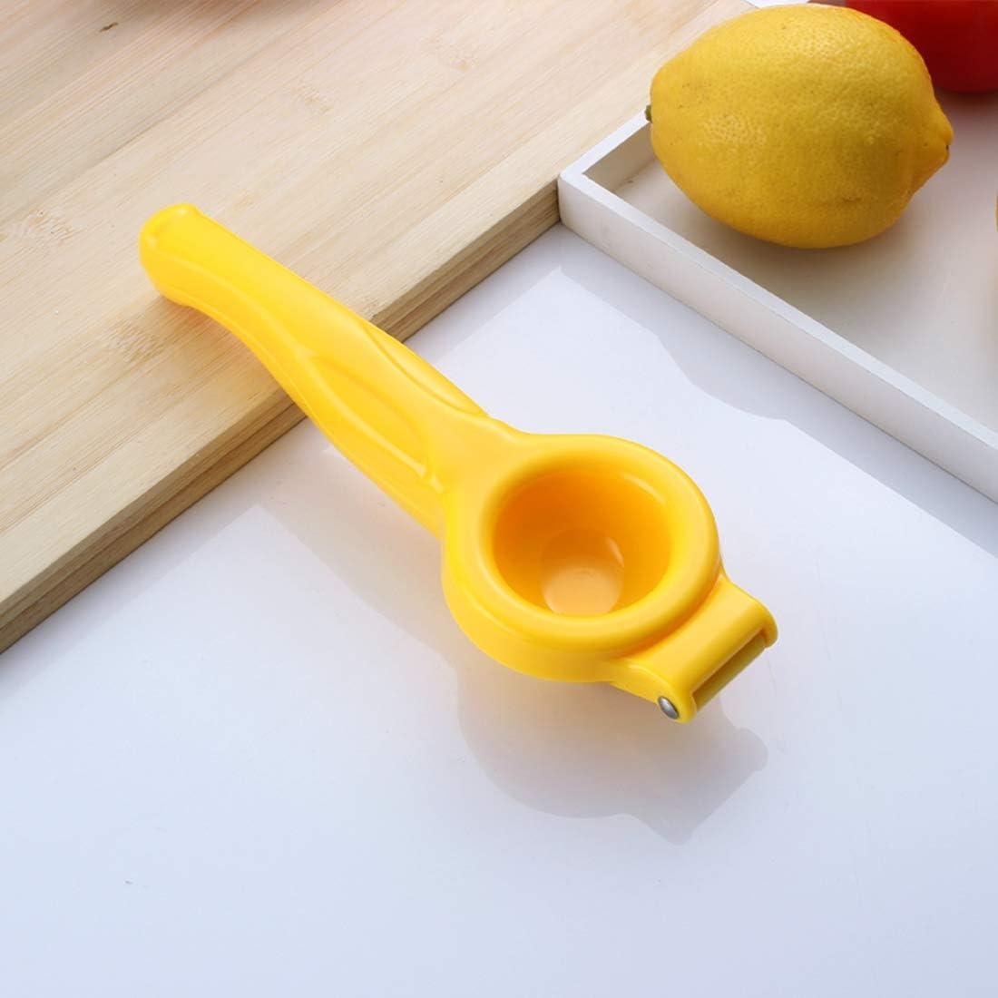 SODIAL Jaune Type de Menage Manuel Presse Citron Orange