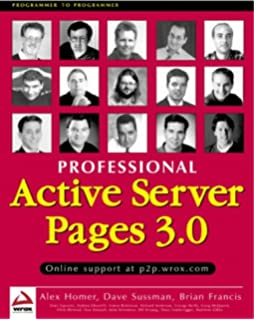 Beginning Active Server Pages 3.0 Pdf