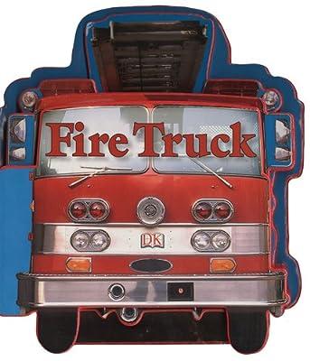Fire Trucks (Shaped Board Books)