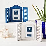 Open and Shut Shutter Photo Frame, wall or free standing for that coastal look! by Tutti Decor