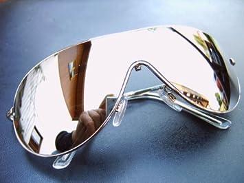 Alpland Sonnenbrille Motorradbrille Speed Ii Voll Verspiegelt Inkl. Softbag wMNyi