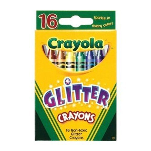 (Crayola Glitter Crayons 16 Count - 2 Packs)