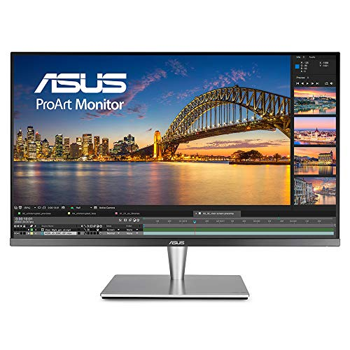 ASUS PA32UC 32u0022 Ultra HD 3840x2160 HDR-10 99.5 Adobe RGB TB3 DP 1.2 HDMI 2.0b ProArt Monitor with 384 local dimming zones