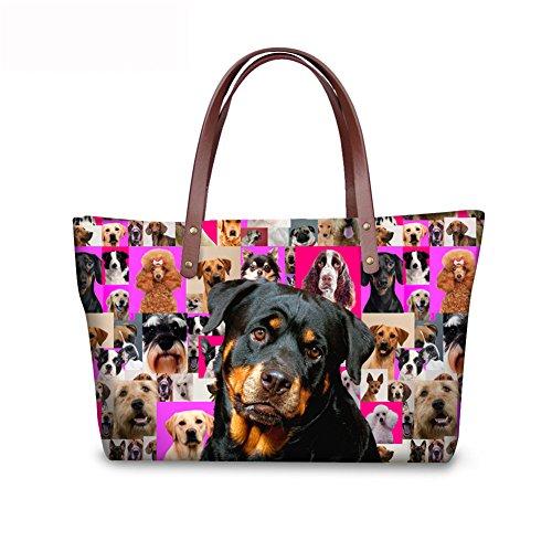 Top C8wca4544al Vintage Handbags Shoulder Handle Satchel Women FancyPrint Bags agvxBBq
