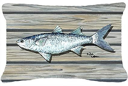 Amazon.com: Tesoros de la Caroline 8490pw1216 pescado Mullet ...