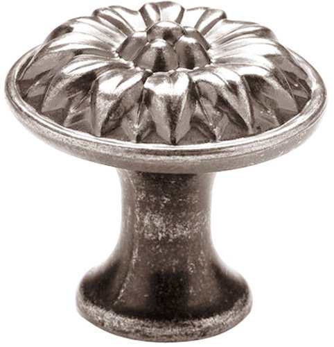 Knobware K-5060/45/ZN3/MN 1-1/8-Inch Muted Nickel Sunflower Knob