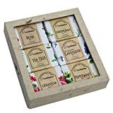 touch nature handmade natural soap. 6 pc 50g bar & castile soap with nepali handmade paper box. no