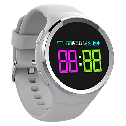 Smart Bracelet Rastreador de Ejercicios, Brazalete para Ejercicios, Reloj Inteligente Impermeable IP67 con Monitor