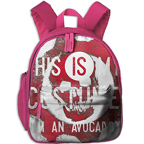 Third Wheel Costume Ideas (I'm An Avocado This My Costume Hot Sale Child Shoulder School Bag School Backpack School Daypack For Teens Boys Girls Students Pink)