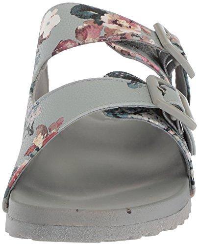 Madden Fille Femmes Chase Slide Sandale Gris / Multi
