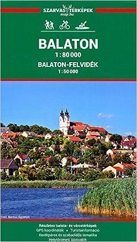 Balaton Lake Hungary 1 80 000 Recreation Map Szarvas