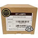 IET Lamps - Genuine Original Replacement bulb/lamp with Housing for EPSON EB-585W, Powerlite 585W Projector