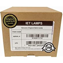 IET Lamps - ET-LAA410 Genuine Original Replacement bulb/lamp inside with Housing for PANASONIC PT-AE8000, PT-AE8000U Projector