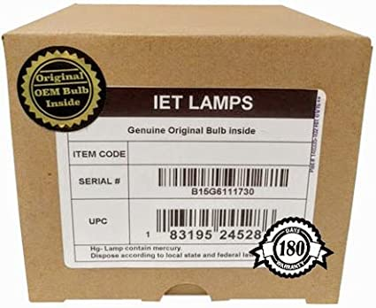 OSRAM Inside IET Lamps Genuine Original Replacement Bulb//lamp with OEM Housing for Christie Mirage DS+10K-M Projector