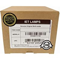 IET Lamps - Genuine Original Replacement bulb/lamp with OEM Housing for BENQ W1070 Projector (OSRAM Inside)