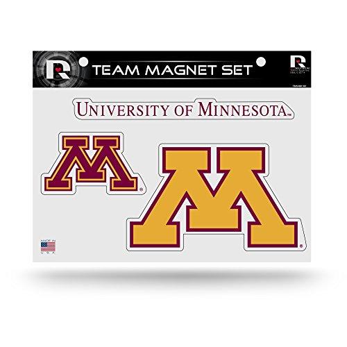 NCAA Minnesota Golden Gophers Die Cut Team Magnet Set Sheet ()