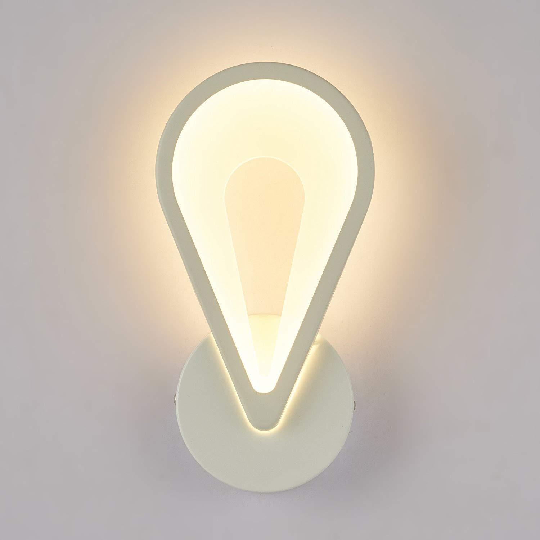 YWJWJ Semplice e Moderna Lampada da Parete Comodino Soggiorno Creativo Lounge Scala LED Acrilico a Piedi