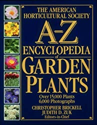 American Horticultural Society A to Z Encyclopedia