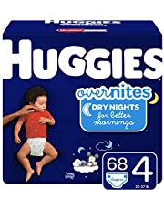 Diapers Huggies Overnites Night Time Disposable Diapers