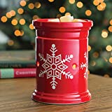 Candle Warmers Etc. Illumination Fragrance Warmer - Snowflake