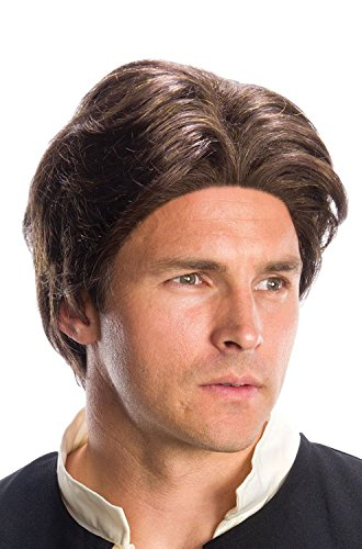 Rubie's Costume Co. Men's Adult Star Wars Han Solo Wig,As/Shown,One Size