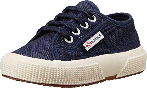 Superga Toddler/Little Kid 2750 Classic Sneaker, Navy, 23 M EU (7 M Toddler) ()