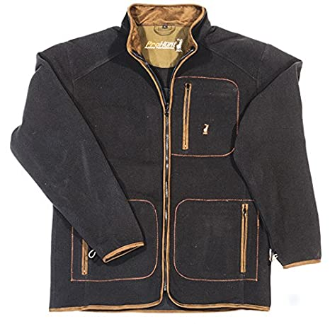 7d951fcc05f1e Verney-Carron Ibex Jacket - Olive Green - L-3XL (Shooting/Hunting): Amazon. co.uk: Sports & Outdoors