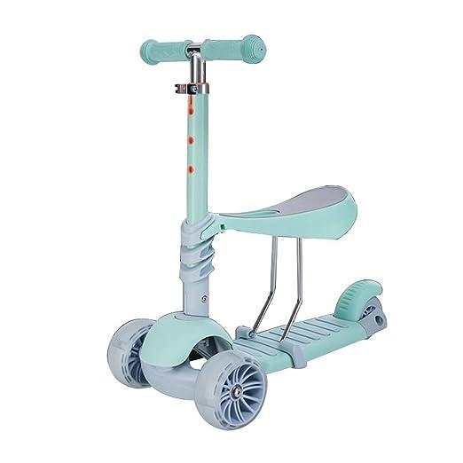 Scooter para niños 3 asaltos Pueden Sentarse 1-2-3-6 años de Edad ...