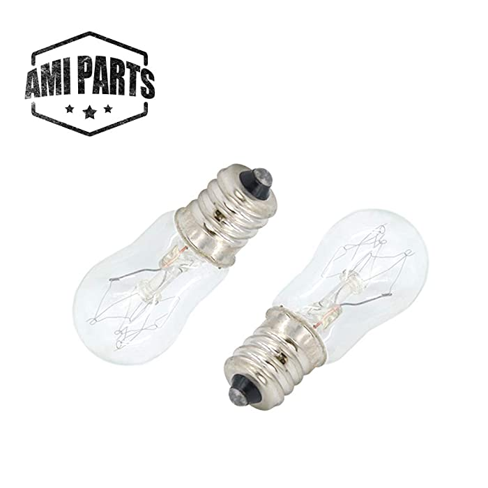 AMI PARTS WE05X20431 Dryer Drum Light 10w 120v Bulb Replacement Part Compatible with Hotpoint GE Dryers(2pcs)