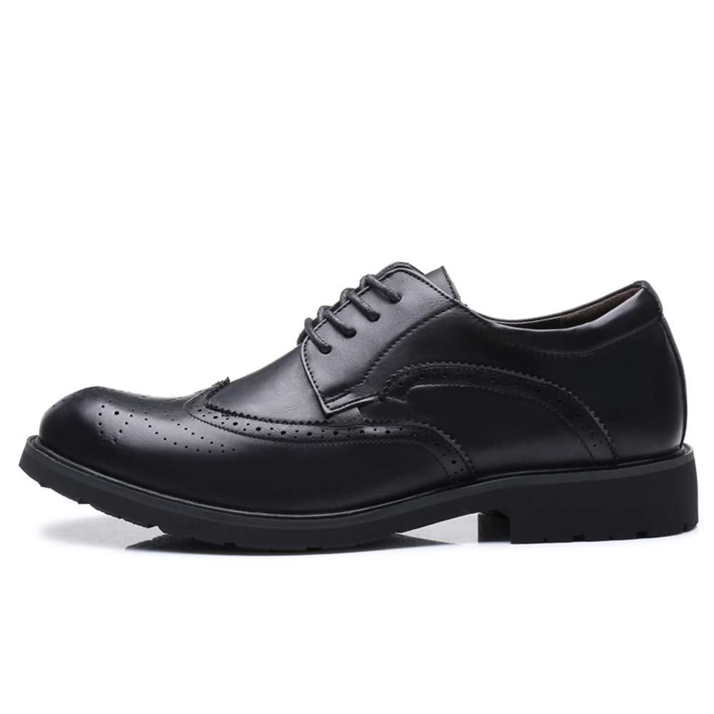 TongLing Mens Fashion Oxford Casual Classic Carving Lace Up Brogue Leisure Shoes Fashion Slipper