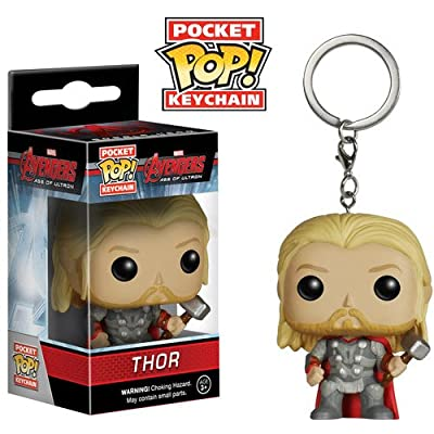 Funko Pocket POP Keychain: Marvel - Avengers 2 - Thor Action Figure: Funko Pocket Pop! Keychain:: Toys & Games