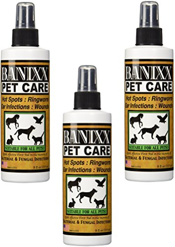 (3 Pack) Banixx Pet Care, 8-Ounce Bottles by Banixx
