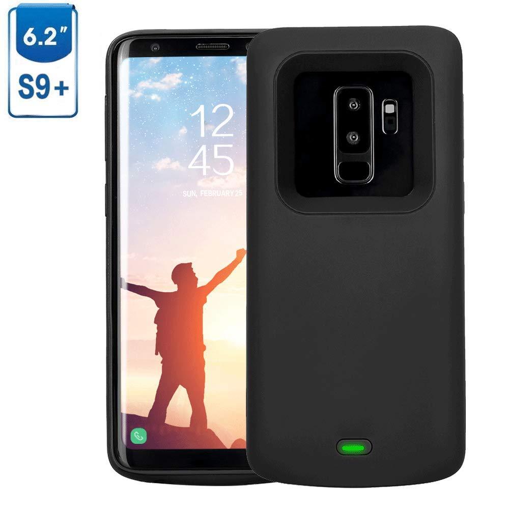 Funda Con Bateria de 5200mah para Samsung Galaxy S9 Plus MBUYNOW [7P24Y1Y6]