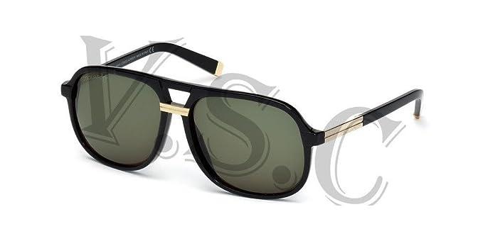 Amazon.com: Dsquared anteojos de sol dq0071 DQ 71 auténtica ...