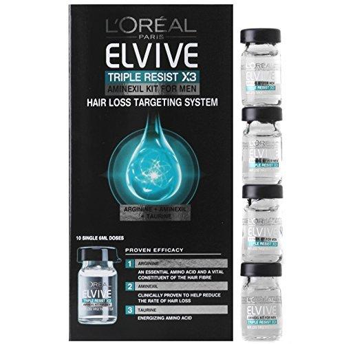 Elvive triple resist, tratamiento de cabello, 6 packs (x10): Amazon.es: Belleza
