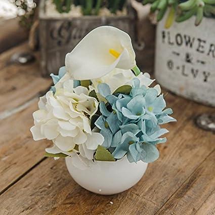 Flores de seda de Paisley Beam flores de plástico simulación flor kit columpio en la sala