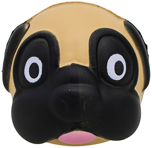 Thumbsup UK PUGSTRS, Pug Stress Ball, Brown ()