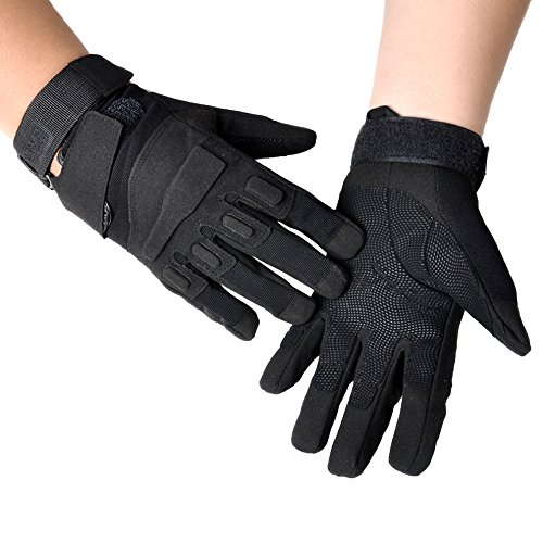 Ezyoutdoor Cycling Mountain Bike Gloves,hand sleeve Road Racing Biking Gloves,Full Finger Sportswear Bicycle Riding Men women Gloves For Skating Motorcycle Outdoor Training Exercise (black)