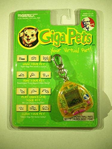 Giga Pets Cyber Kitty Electronic Virtual Pet