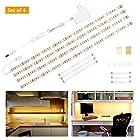 Under Cabinet Lighting kit, Flexible LED Strip Lights Bar,6.6ft Tape Light Set