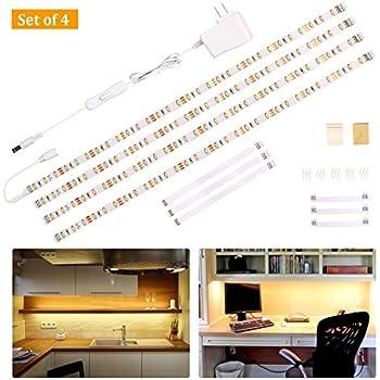 Wobane Under Cabinet Lighting Kit Flexible Led Strip