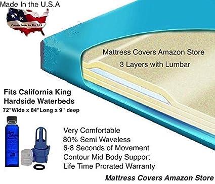 Amazon Com California King 80 Semi Waveless Waterbed Mattress With
