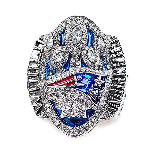 HASTTHOU Replica Championship Ring for New England Patriots Gift Fashion Ring (size11) (2017)