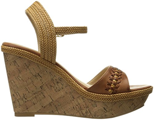 Cl By Chinese Laundry Mujeres Cynthia Wedge Pump Sandalia Camel Burnished