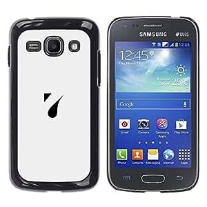 Be Good Phone Accessory // Dura Cáscara cubierta Protectora Caso Carcasa Funda de Protección para Samsung Galaxy Ace 3 GT-S7270 GT-S7275 GT-S7272 // a drop