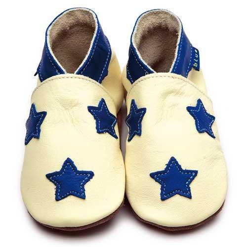 Inch Blue - Patucos para niño multicolor Buttermilk/Kobalt Child Large