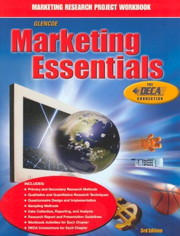 Marketing Essentials, Marketing Research Project Workbook