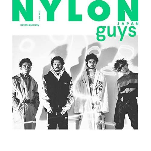 NYLON JAPAN guys 2019年7月号 表紙画像